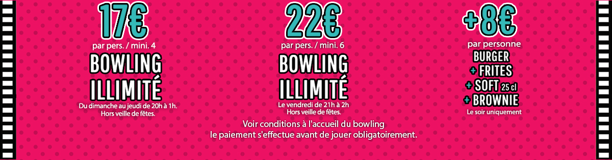 Gramont Toulouse - Bowling discotheque, complexe toulousain